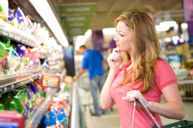 Leve sempre uma lista com o necessário para não gastar demais no supermercado.