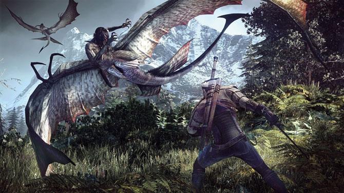 Lute contra inimigos gigantescos no novo título de The Witcher. (Foto: Reprodução)