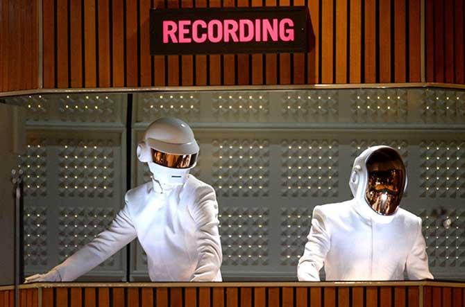 A dupla Daft Punk foi o destaque do Grammy 2014.