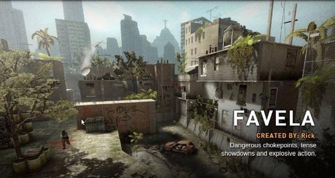 O mapa Favela está de volta ao jogo.
