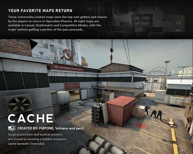 de_cache é um dos mapas mais aclamados pela comunidade