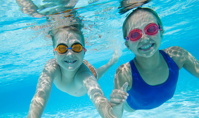 A natação é um excelente modo de perder peso