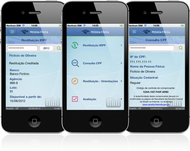 App da Receita Federal já está disponível para download