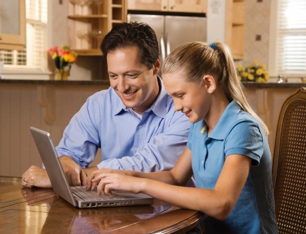 Proteja seu filho na internet