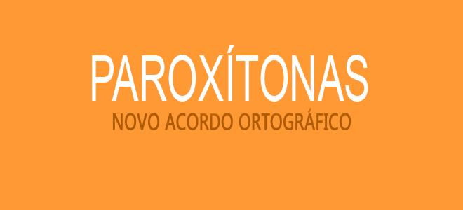 paroxitonas
