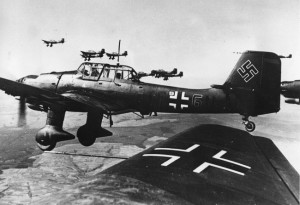A-formation-of-German-Ju-87-Stuka-dive-bombers-are-flying-over-an-unknown-location-in-this-May-29-1940-photo.-AP-Photo-650x446
