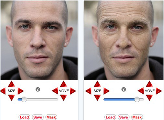 Age My Face promete envelhecer você. (Foto: Reprodução)