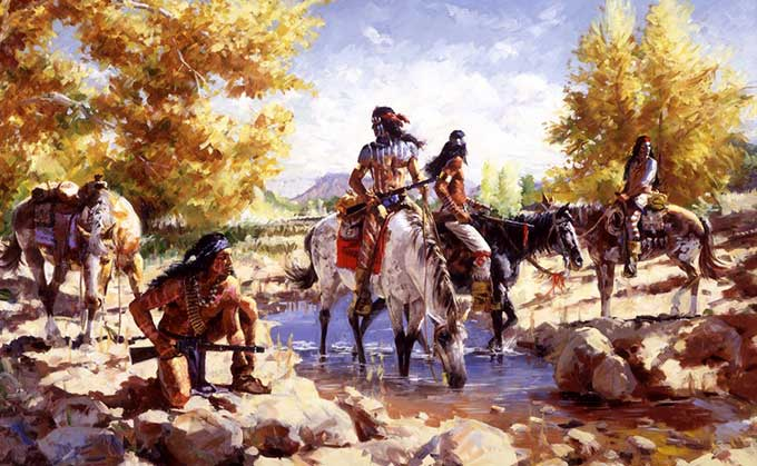 Apaches-At-The-Water