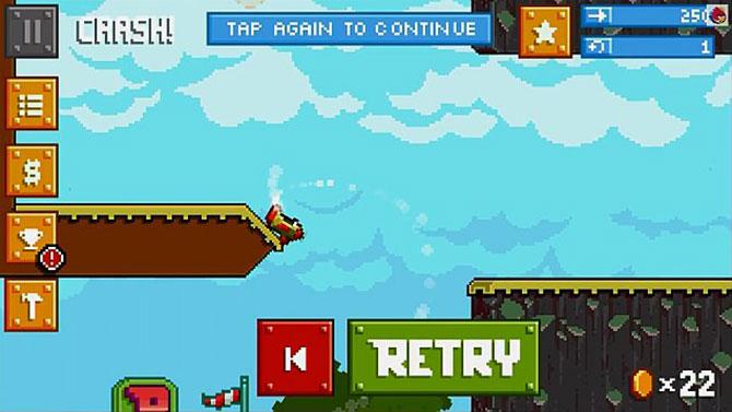 O jogo promete ser ainda mais desafiador que Flappy Bird (Imagem: Reprodução)