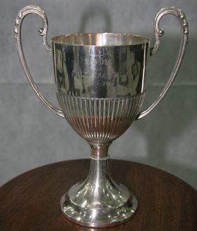 A Taça Savóia foi o primeiro troféu do Palestra Itália. (Foto: Gazeta Esportiva)