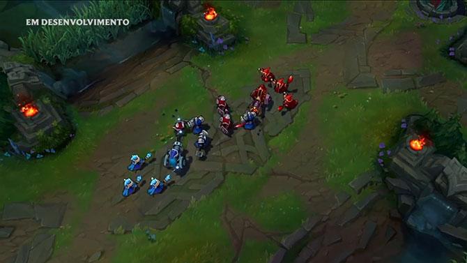 Minions também ganharam um visual novo (Foto: Youtube/Riot Games)