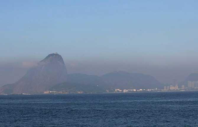 Inversão térmica no Rio de Janeiro.