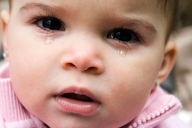 O choro é uma das principais maneiras de expressar sentimentos.