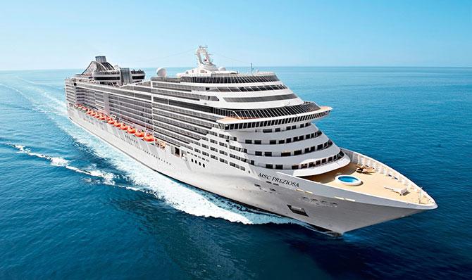 Fazer um cruzeiro é uma excelente escolha pra quem quer relaxar nas férias.