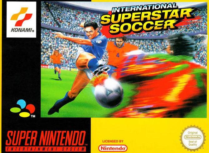 International Super Star Soccer Deluxe, o jogo de futebol mais famoso da década de 90.