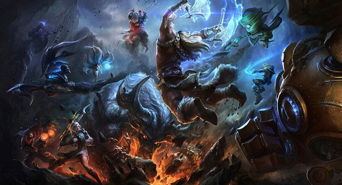 League of Legends é atualmente o jogo mais jogado do mundo.