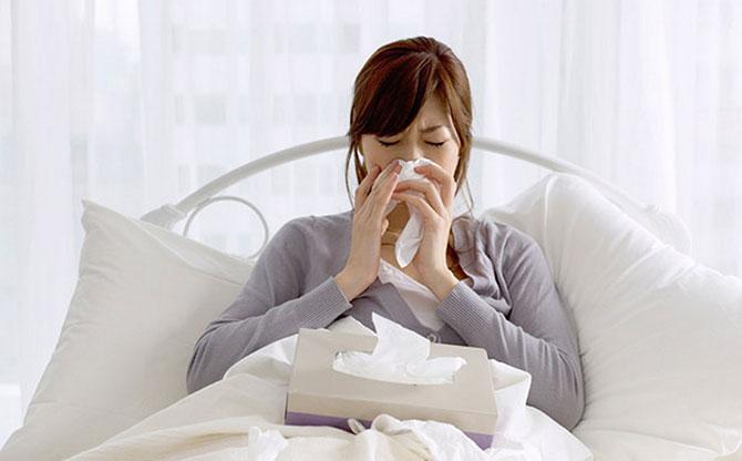 Nenhum remédio cura a gripe, na verdade ele alivia os sintomas.