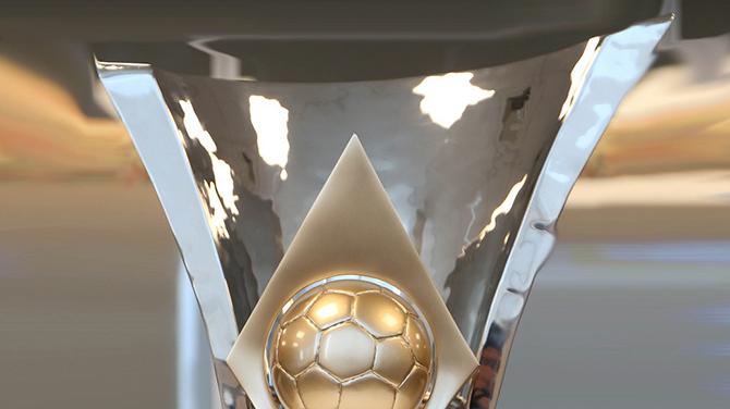 A taça tem 45 de largura, 60 cm de altura e 40 de profundidade. (Foto: Rafael Ribeiro/Divulgação CBF)