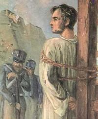 Frei Caneca um dos líderes do movimento foi condenado ao fuzilamento