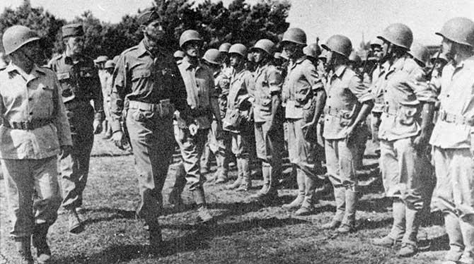 A FEB foi um grupo com cerca de 25 mil soldados enviados pelo Brasil para a Segunda Guerra Mundial