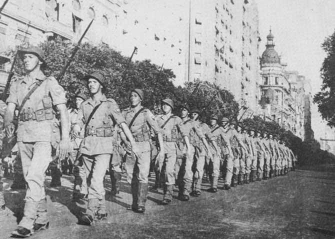 Os soldados brasileiros ficaram conhecidos como pracinhas