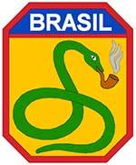 """O lema da FEB era """"A cobra está fumando"""", pois se dizia na época que seria """"Mais fácil uma cobra fumar cachimbo do que o Brasil participar da guerra na Europa"""""""