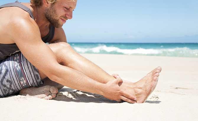 Os pés e as mãos são os que mais sofrem com o formigamento