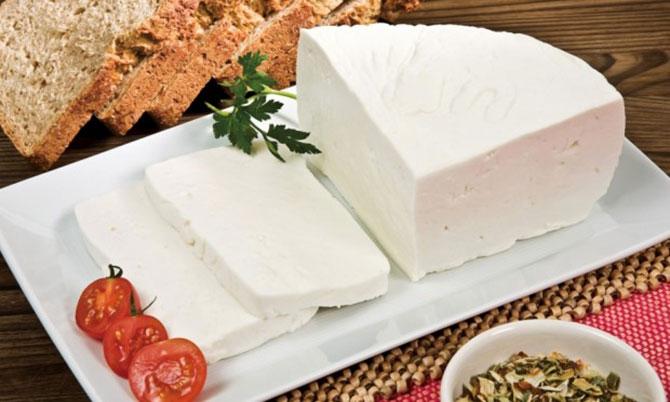 Quanto mais branco o queijo for melhor