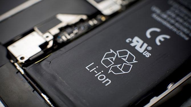 A bateria pode gerar uma faísca e causar uma explosão. (Imagem: Reprodução)