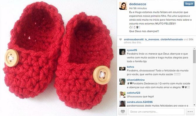 Publicação de Deborah Secco no Instagram. (Foto: Reprodução/Instagram)