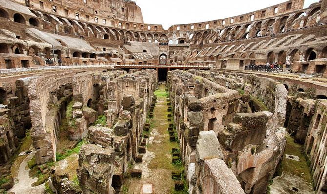 Devido a uma lei, o Coliseu acabou ficando de lado (Imagem: Reprodução)
