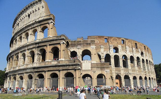 O Coliseu é um dos monumentos mais famosos do mundo (Imagem: Reprodução)