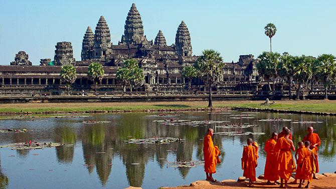 Primeiro lugar do ranking ficou com o Angkor Wat, localizado em Siem Reap, Camboja (Imagem: Reprodução)
