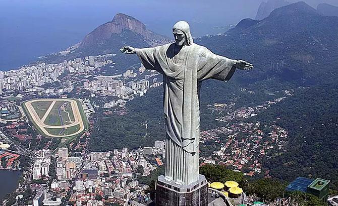 Cristo Redentor ficou com a nona posição entre os melhores pontos turísticos do mundo (Imagem: Reprodução)