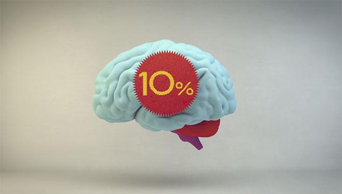 Será mesmo que usamos apenas 10%? (Imagem: Reprodução/Youtube)