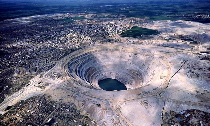 """Local é conhecido como o """"umbigo da Terra"""" (Imagem: Reprodução)"""