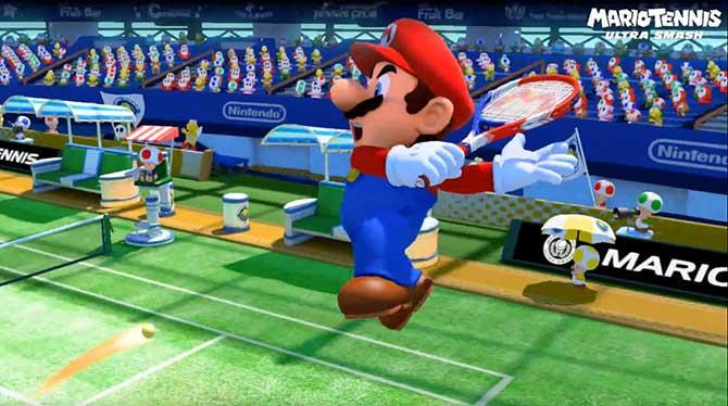 Novo título se chama Mario Tennis: Ultra Smash