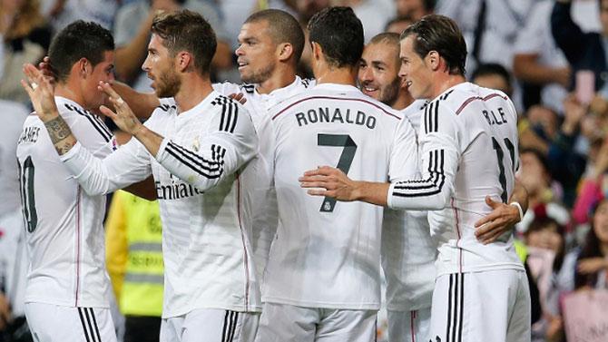 Real Madrid aparece no topo da lista (Imagem: Reprodução)