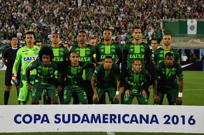 Chapecoense campeã da Copa Sul-Americana 2016