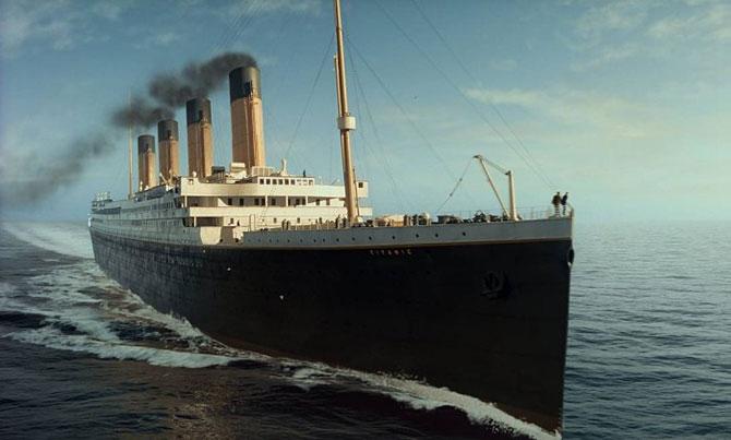 """Cena do filme """"Titanic"""" de 1998. (Imagem: Reprodução)"""